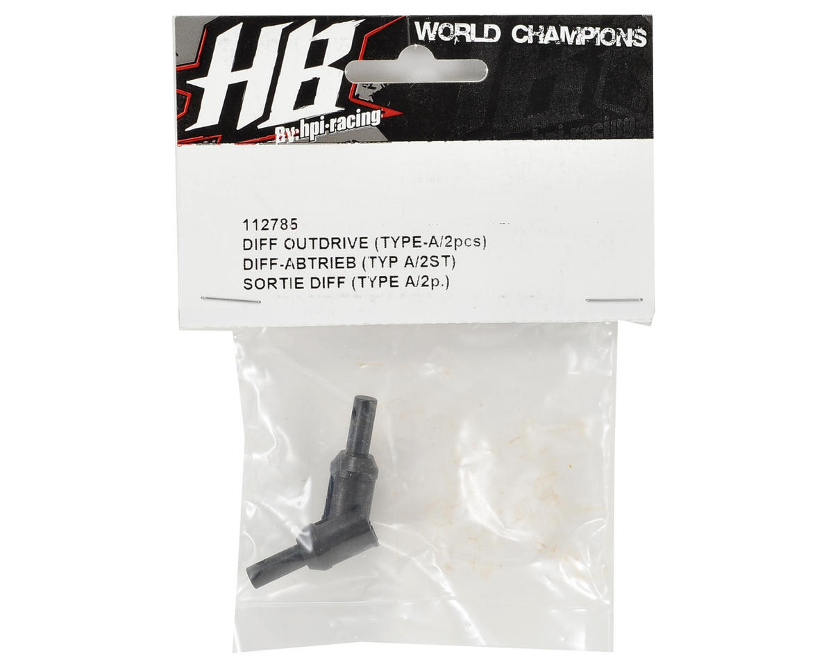HB Racing Differential Outdrive (2) (Type A)