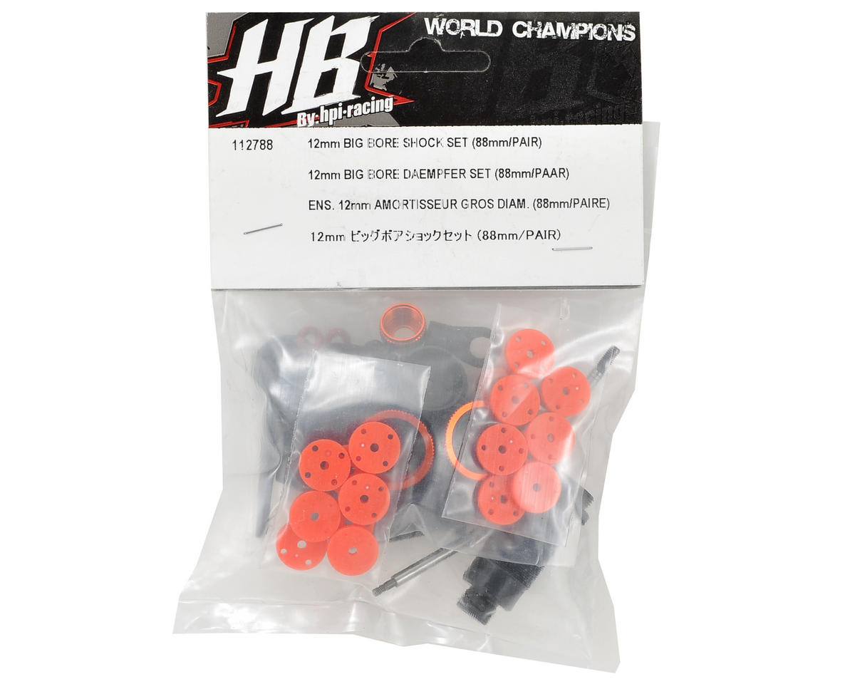 HB Racing Big Bore Shock Set 88mm (2)