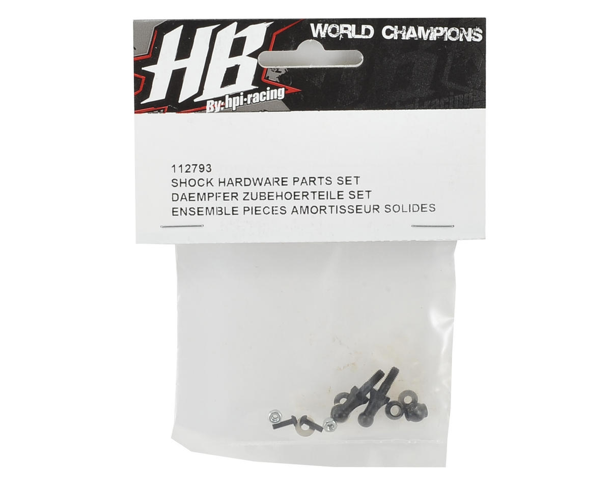 HB Racing Shock Hardware Part Set