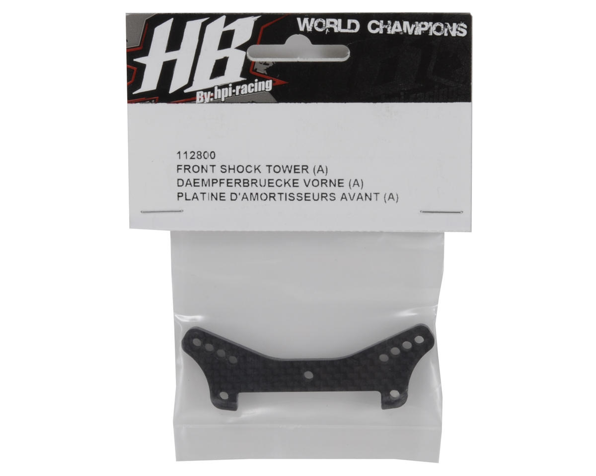 "HB Racing Front Shock Tower ""A"""