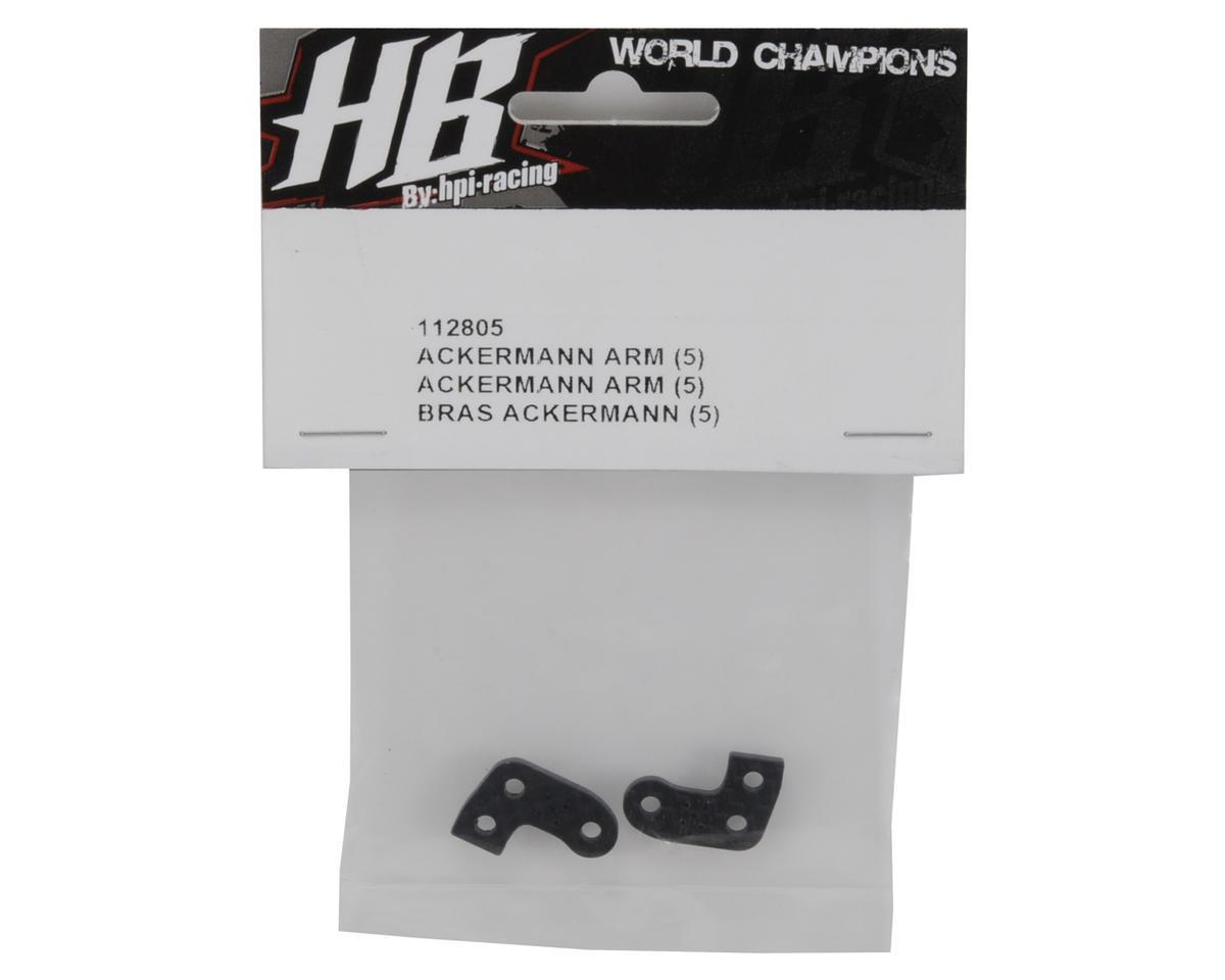 HB Racing Ackermann Arm Set (5-Mellow)
