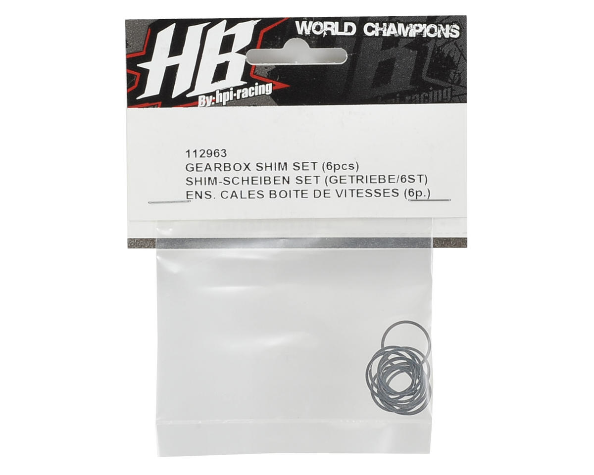 HB Racing Gearbox Shim Set (12)