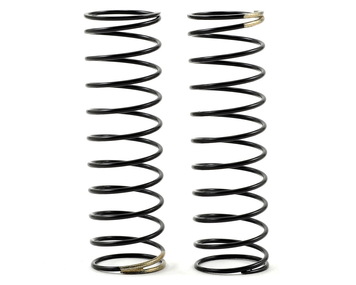 Rear Shock Spring (Gold - 37.8g/mm) by HB Racing