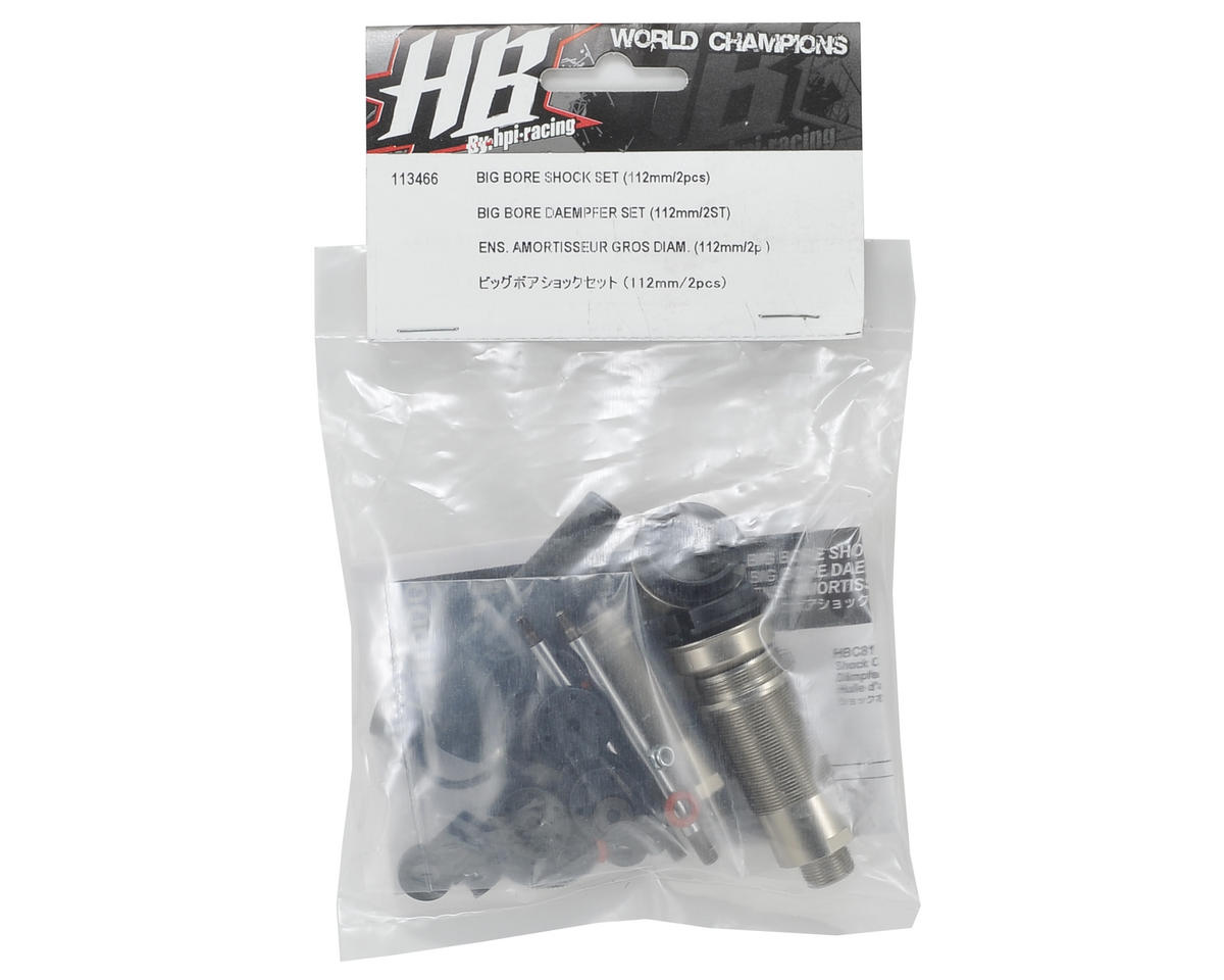 112mm Big Bore Shock Set by HB Racing