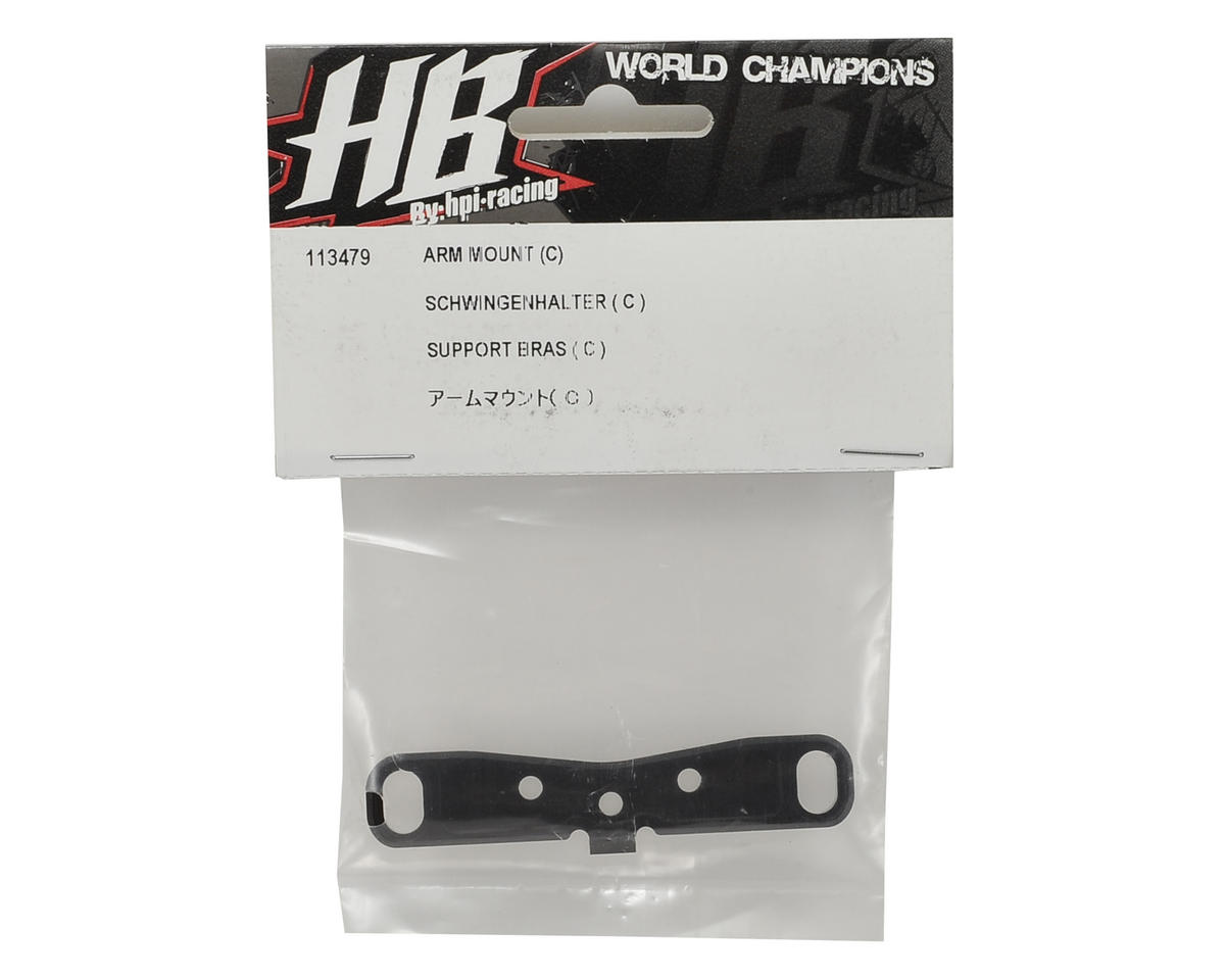 HB Racing D8T Arm Mount C