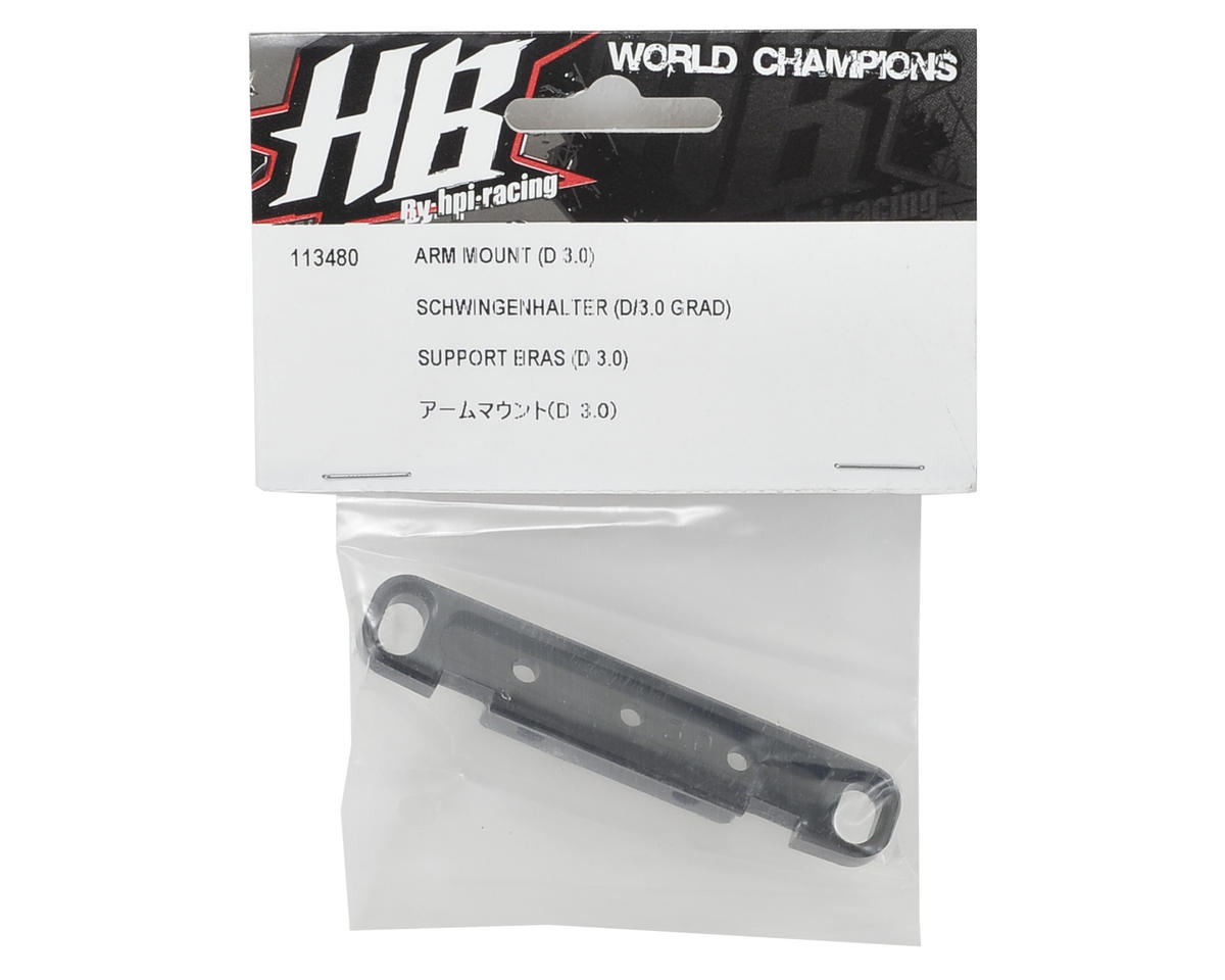Arm Mount (D 3.0) by HB Racing