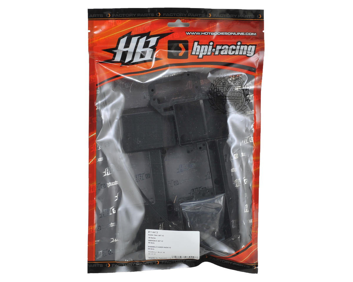 HB Racing V2 Radio Tray Set