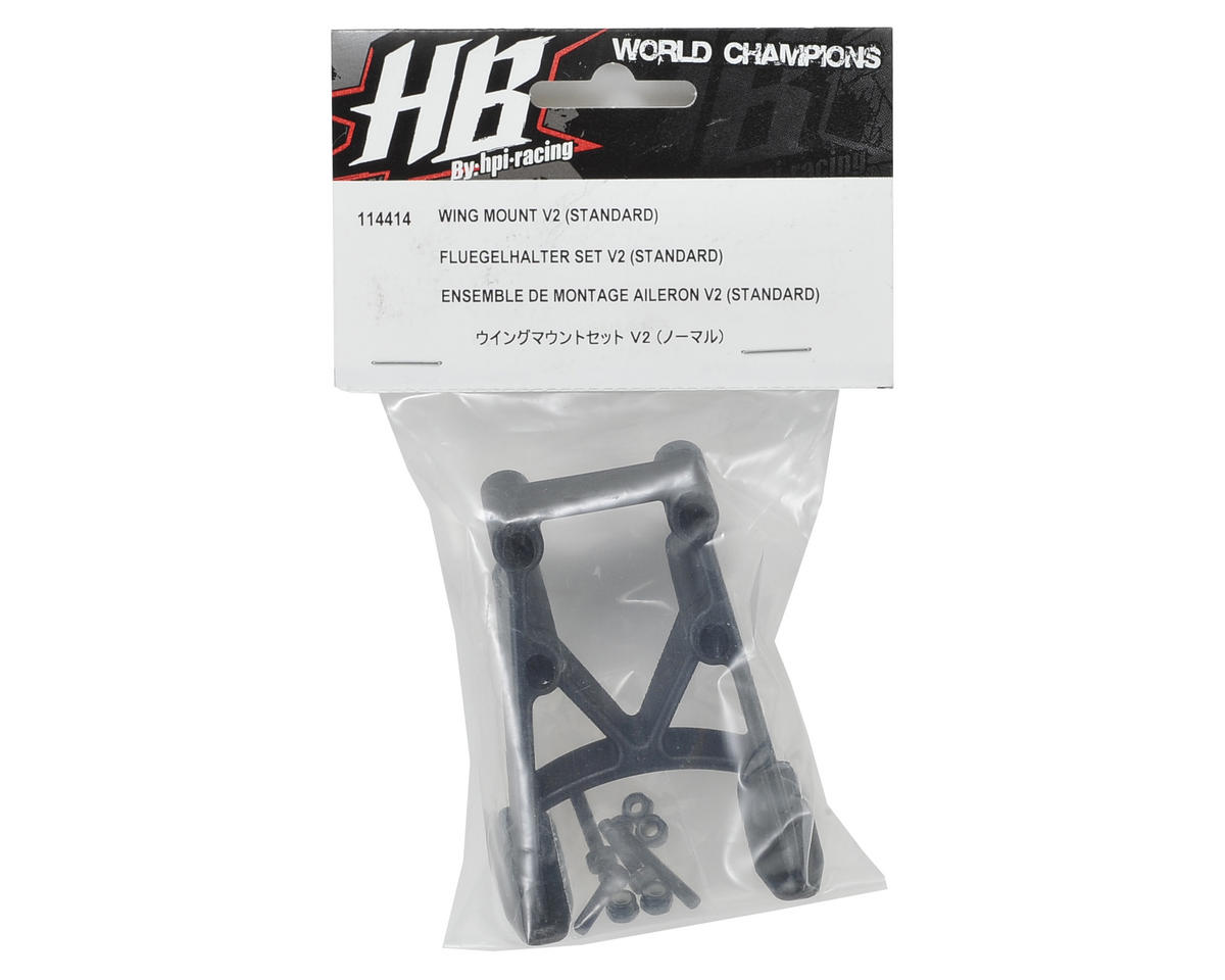 HB Racing V2 Wing Mount (Standard)