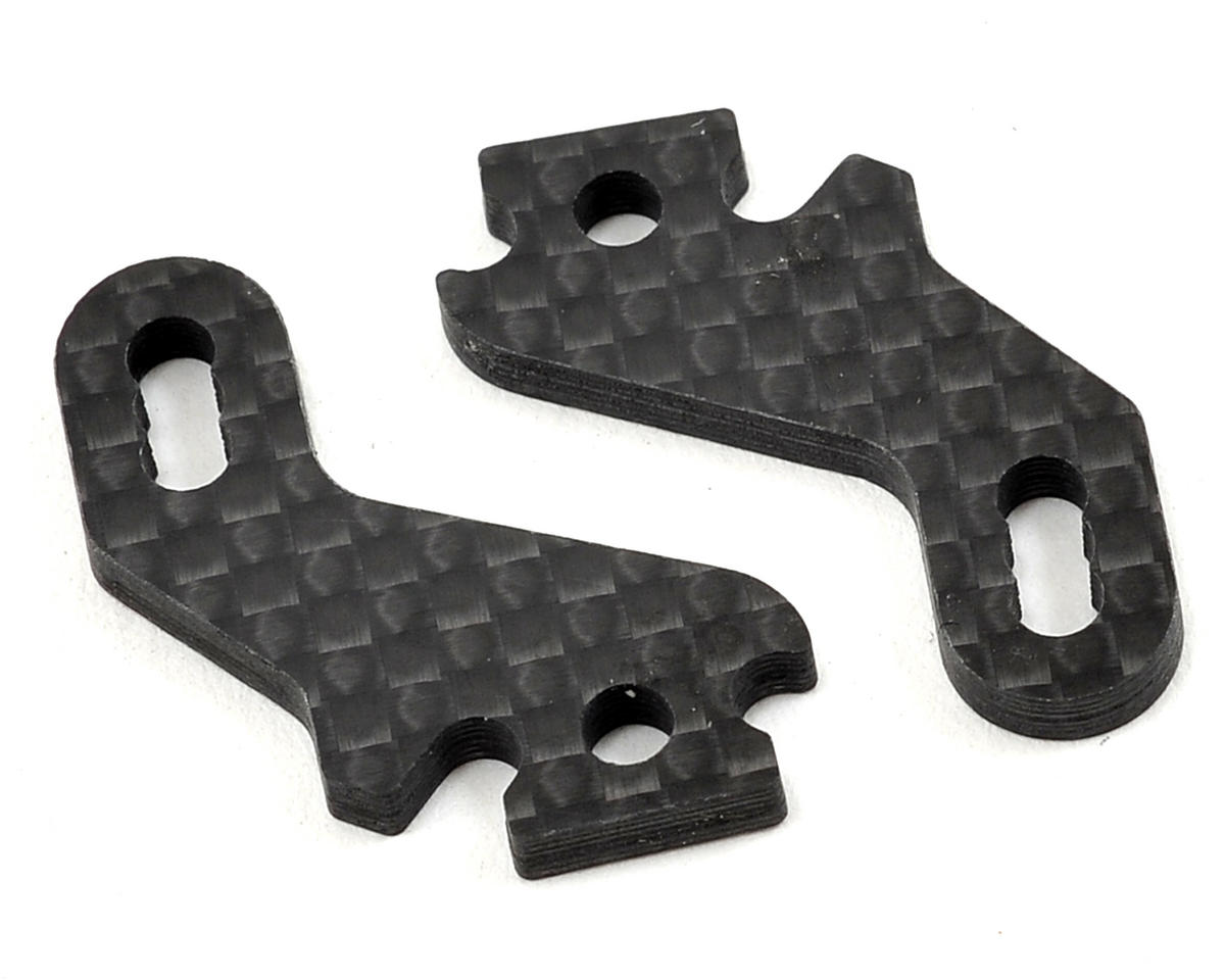 HB Racing Carbon Fiber Steering Block Arm Set