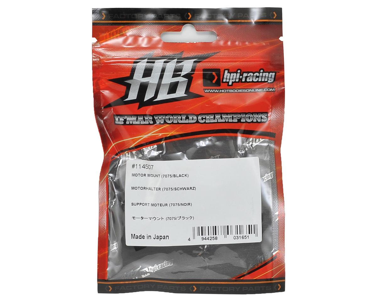HB Racing Motor Mount (Black)