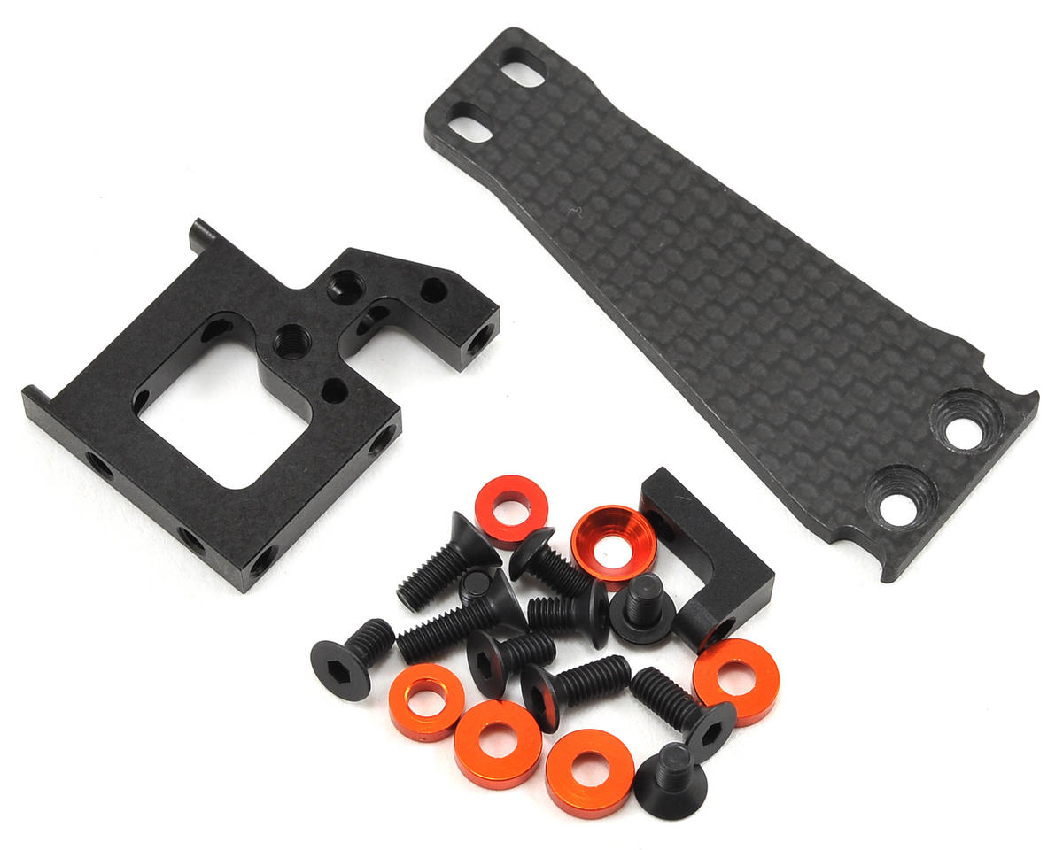 HB Racing Floating Servo Mount Set