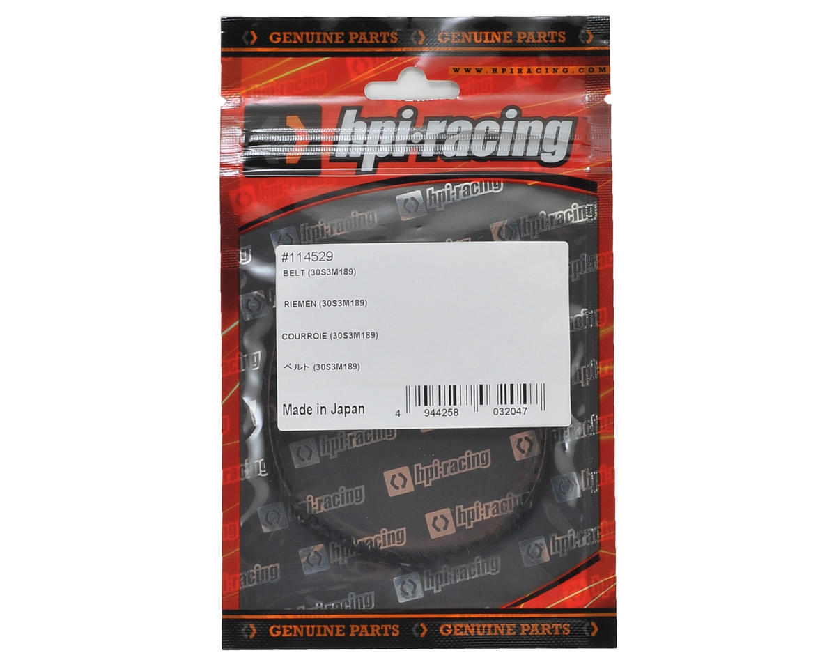 30S3M189 Rear Belt by HB Racing