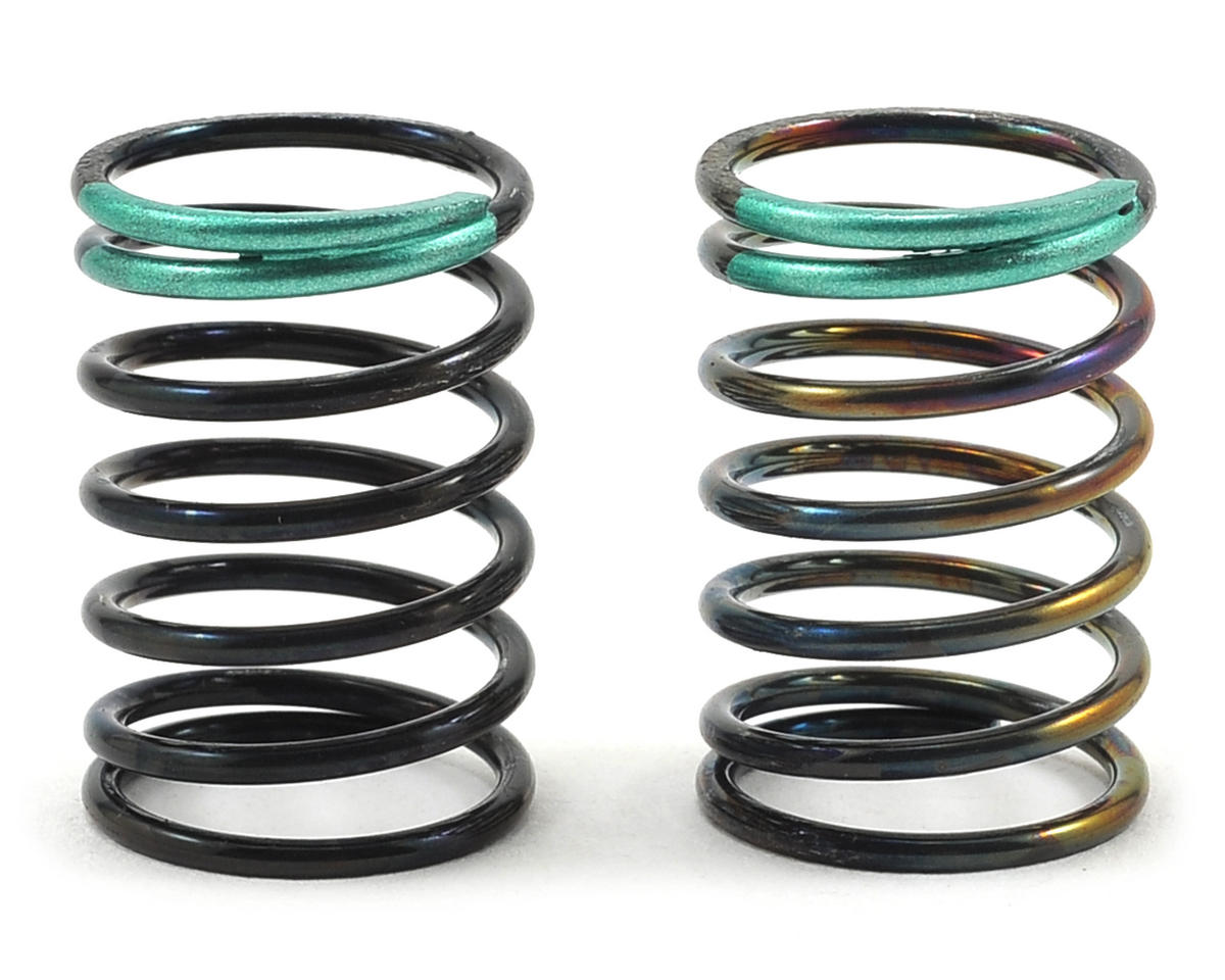 HB Racing 14x25x1.5mm Racing Shock Spring (Green - 6.75 Coil)