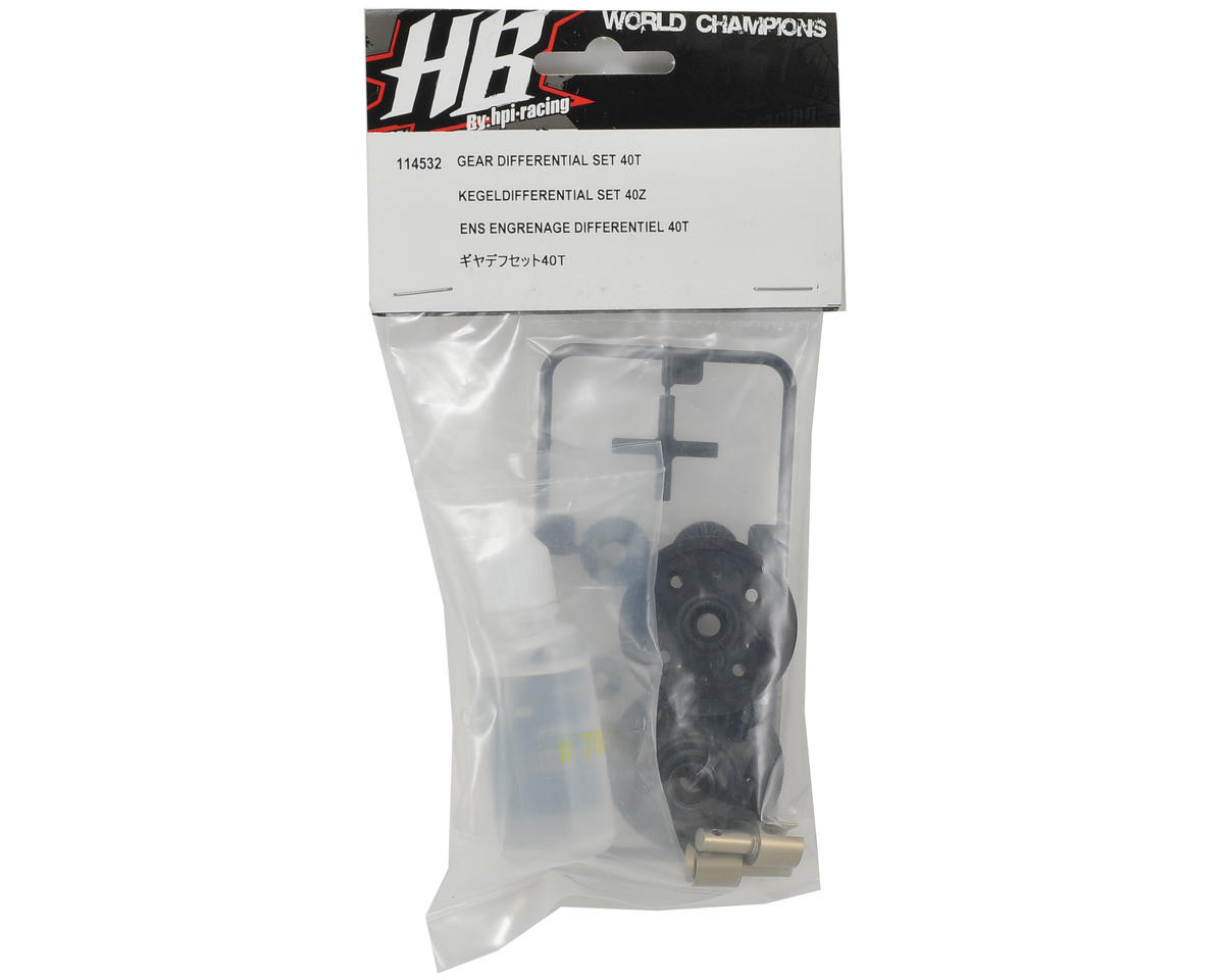 HB Racing Gear Differential Set (40T)