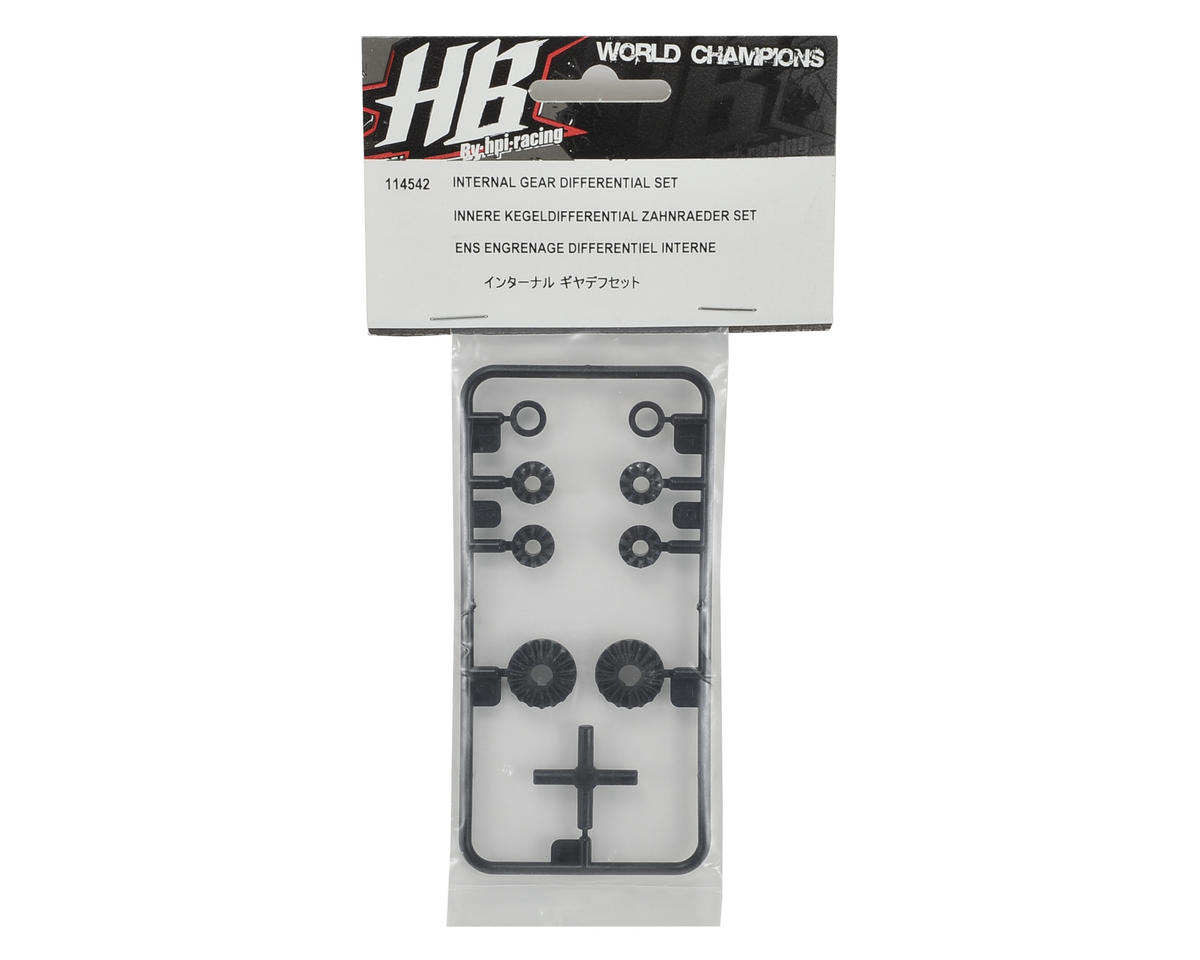 HB Racing Bevel Differential Gear Set