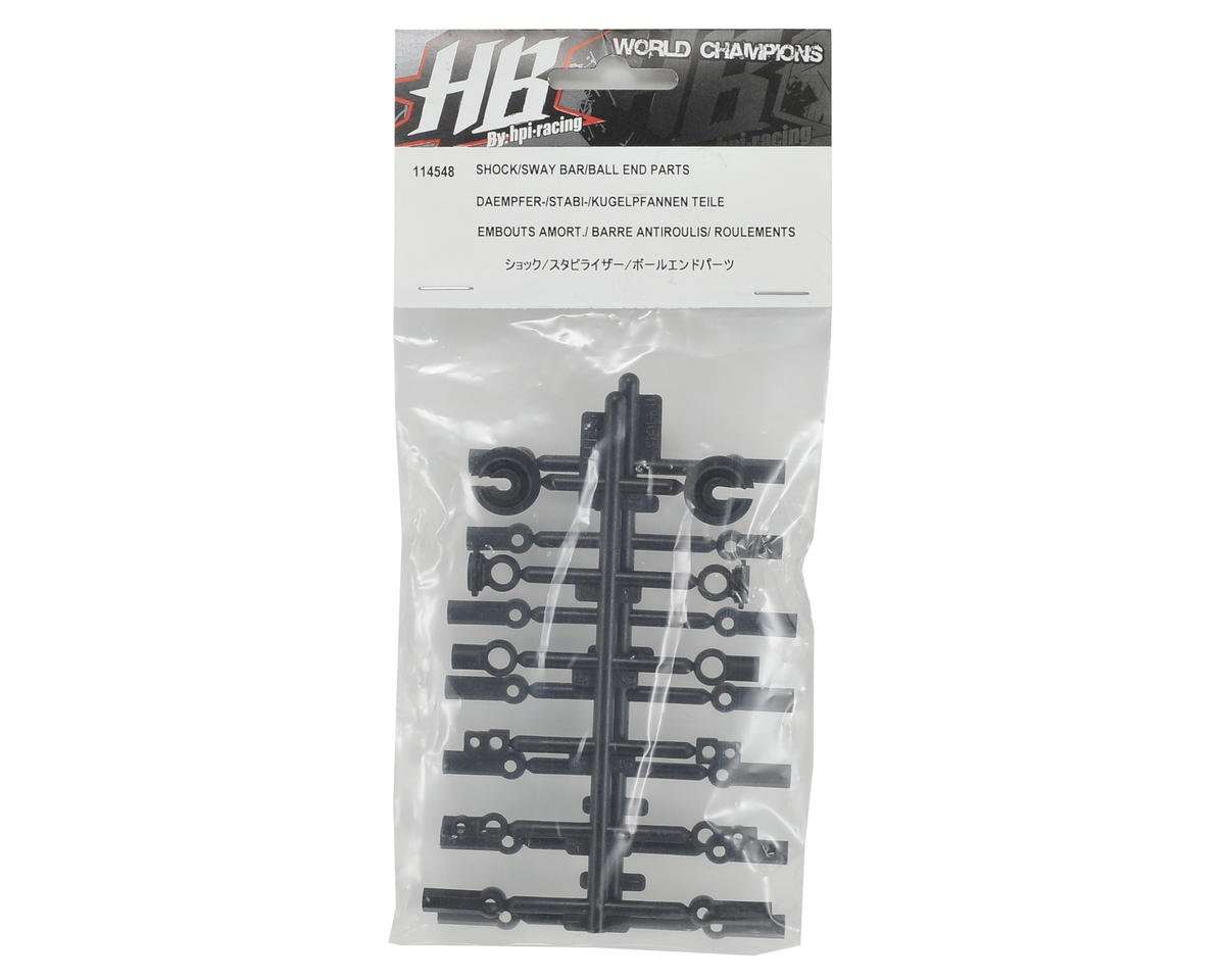 HB Racing Shock/Sway Bar/Ball End Part Set