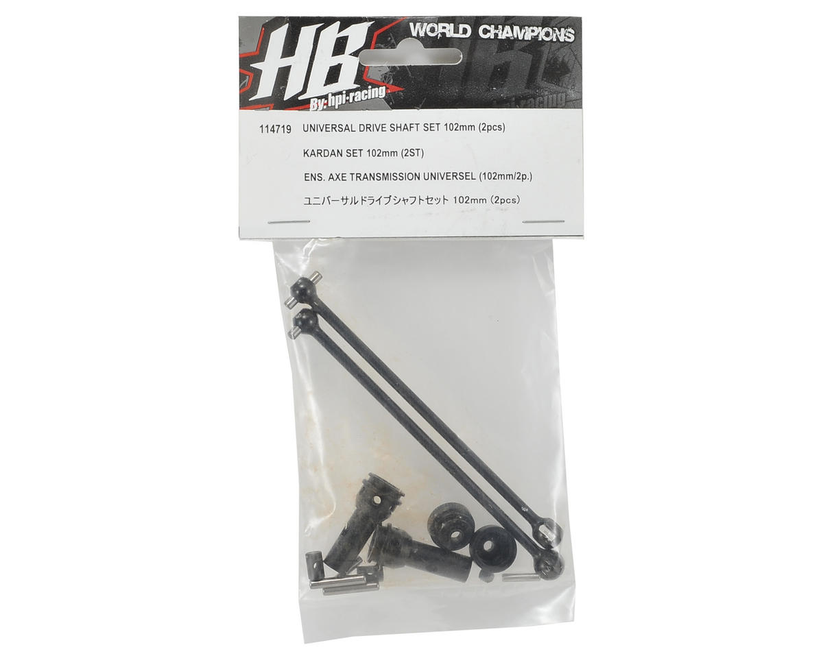 HB Racing Universal Rear Drive Shaft Set