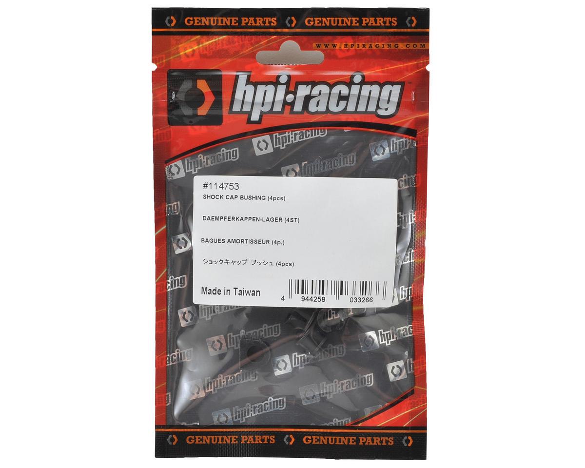 Shock Cap Bushing (4) by HB Racing