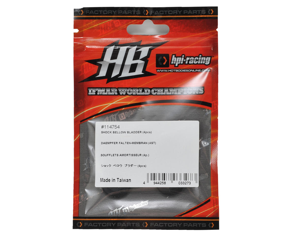 HB Racing Bellow Shock Bladder (4)