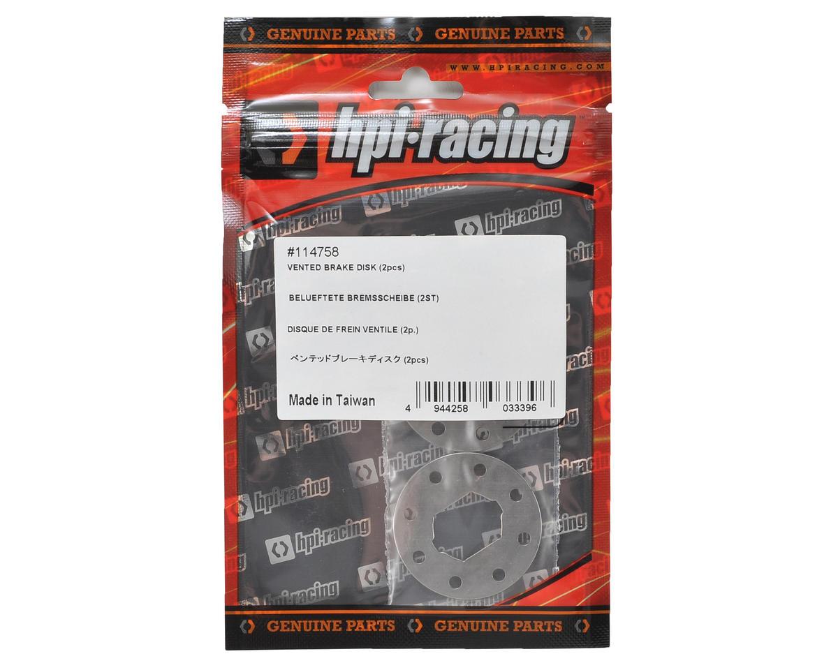 HB Racing Vented Brake Disk (2)
