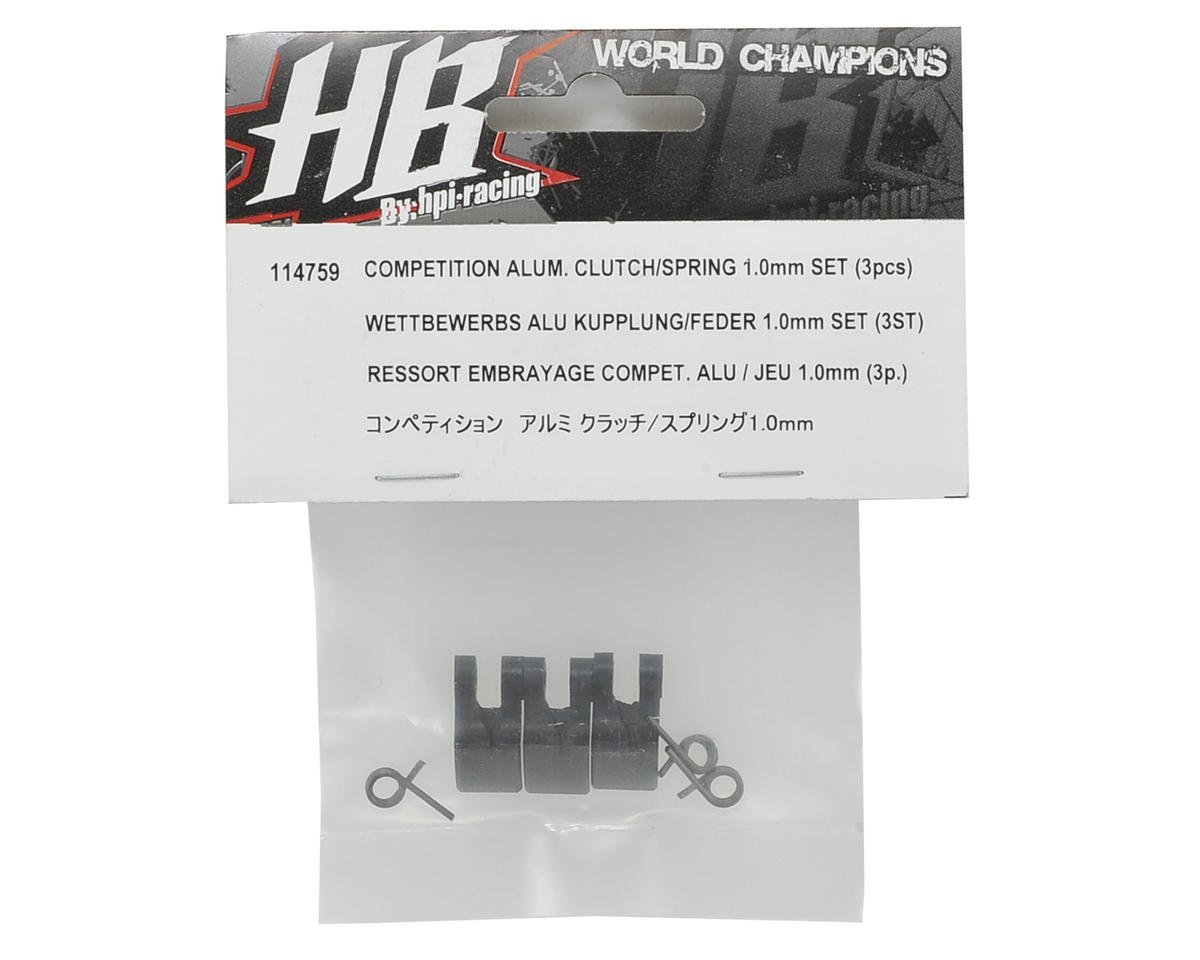 HB Racing Aluminum Competition Clutch Shoe Set