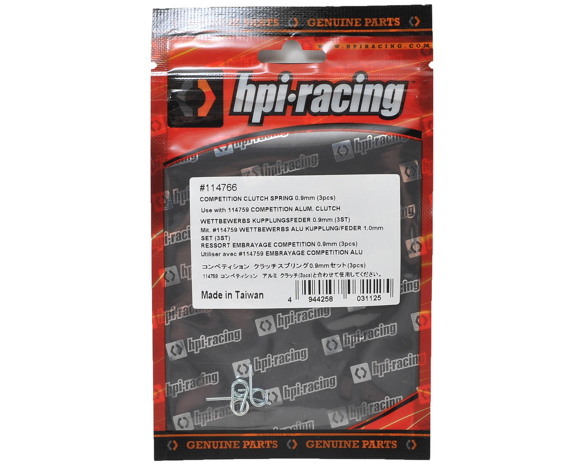 HB Racing Competition Clutch Spring (3) (0.9mm)