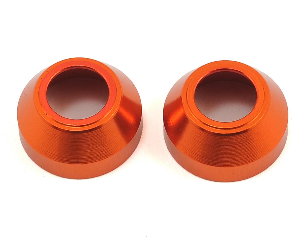 HB Racing CVD Pin Sleeve (Orange) (2) (Hot Bodies D8T Tessmann Edition)