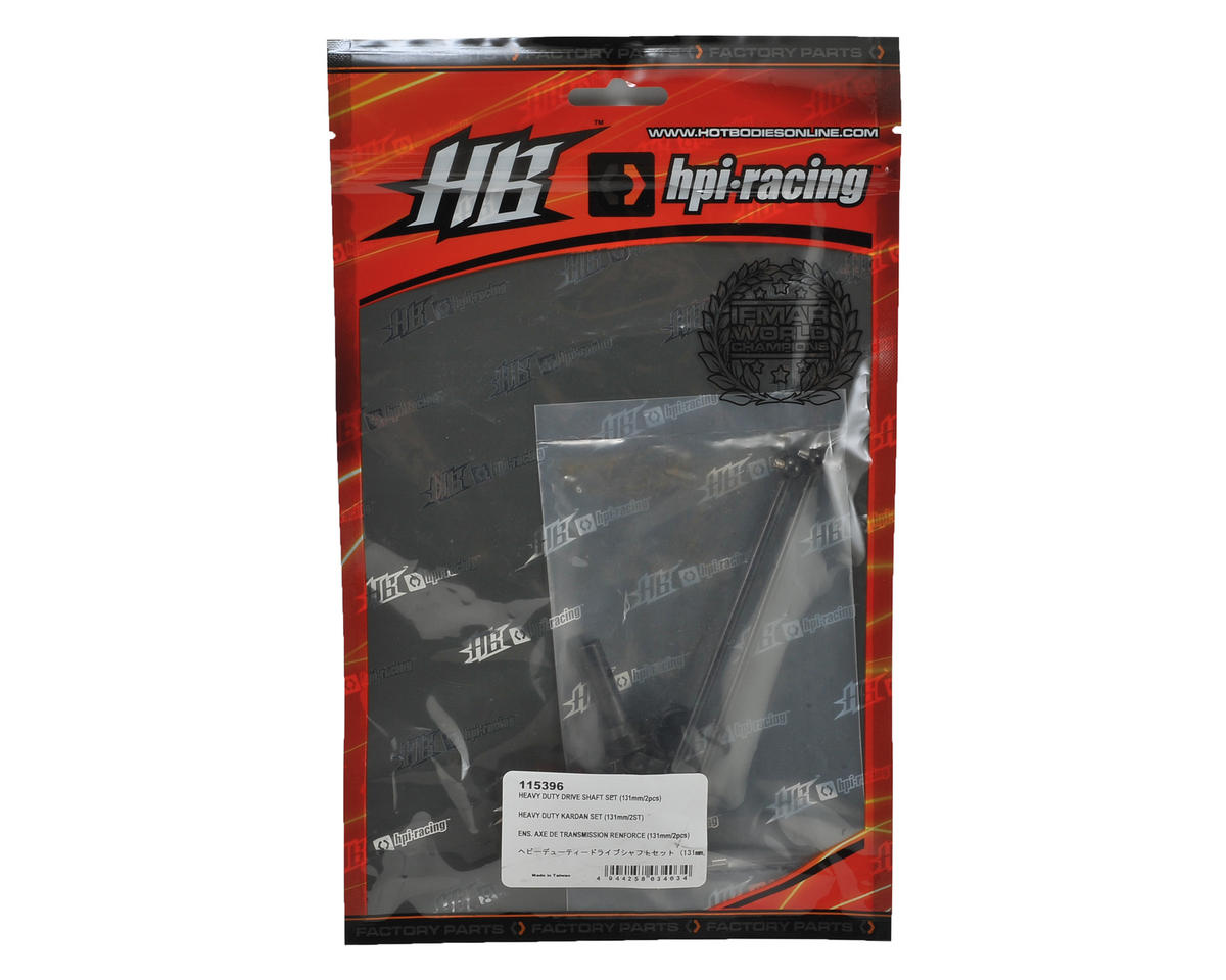 HB Racing 131mm Heavy Duty Front Drive Shaft Set (2)