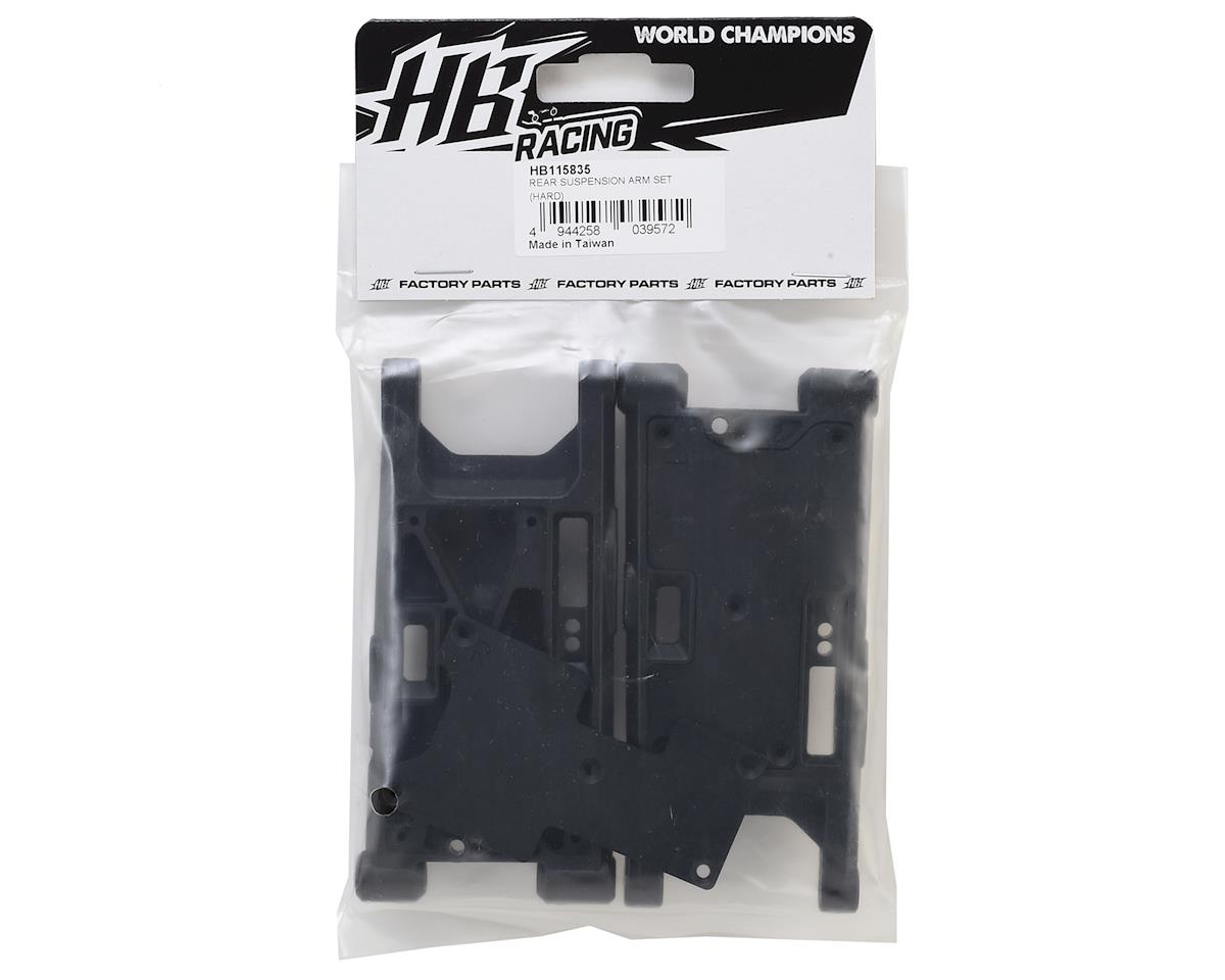 HB Racing Rear Suspension Arm Set (Hard)