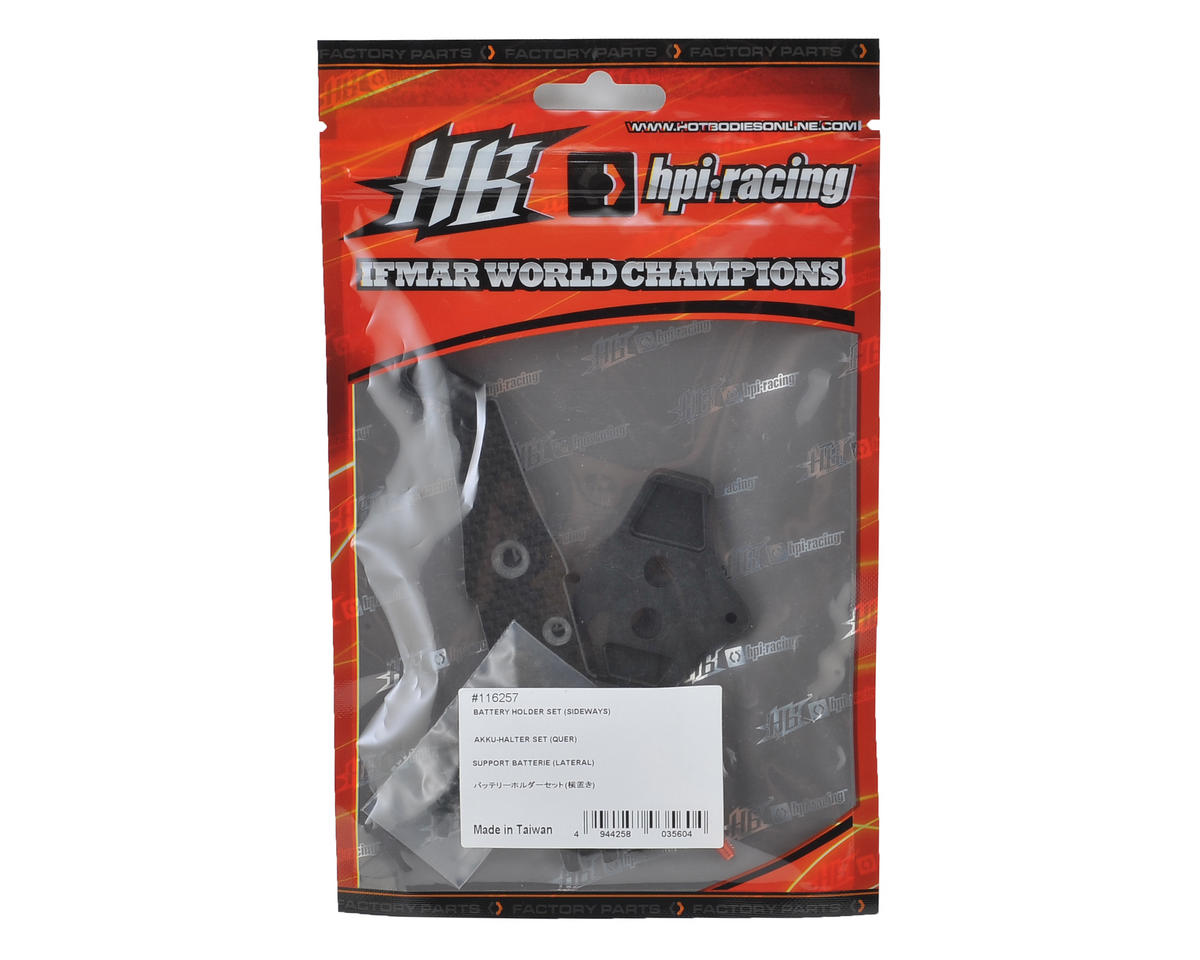 HB Racing D216 Battery Holder Set (Sideways)