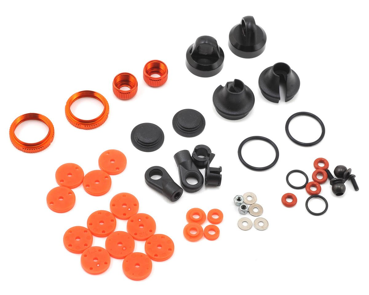 HB Racing D216 12mm Bore V2 Shock Parts Set