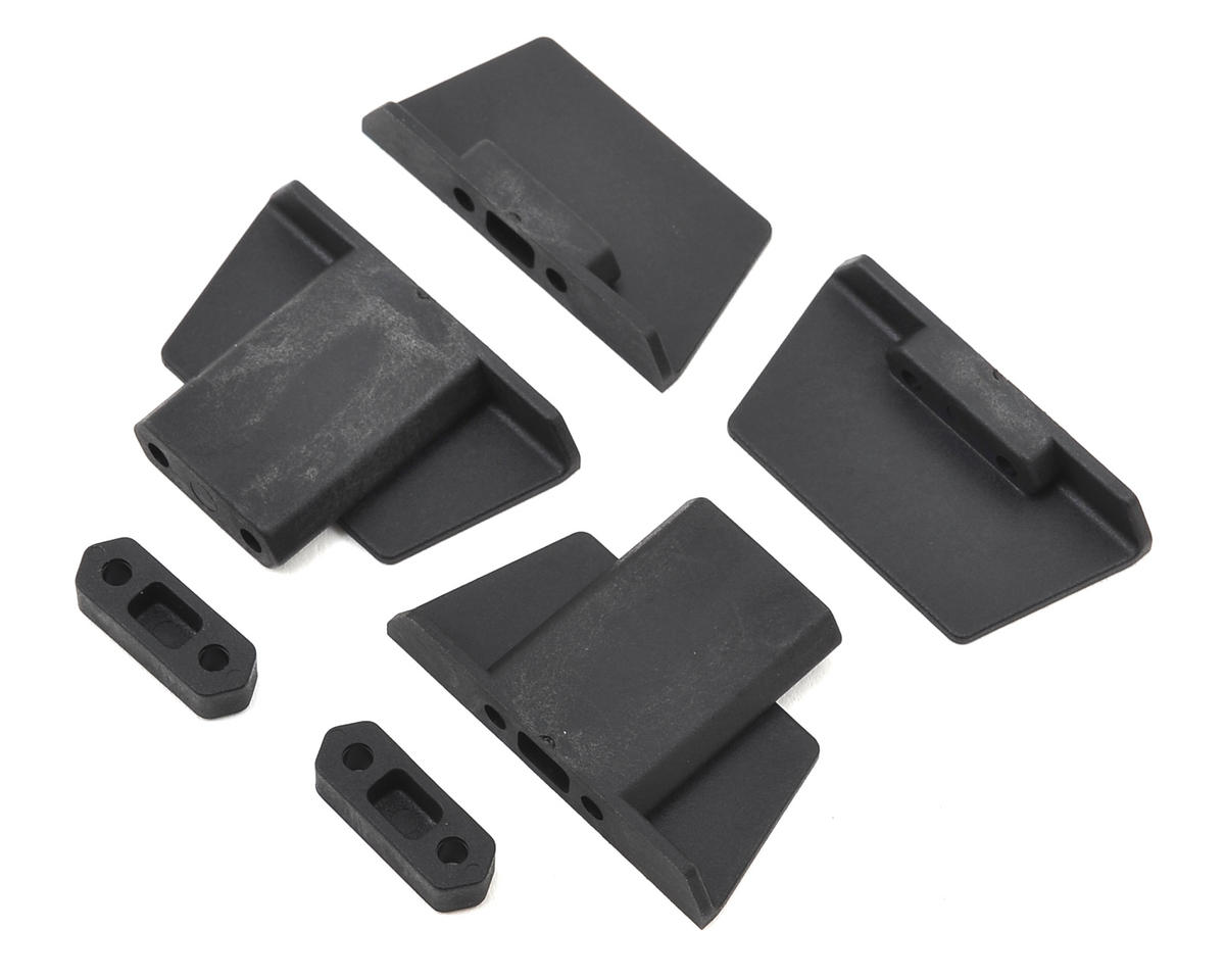 HB Racing D216 Battery Post & Body Mount Set