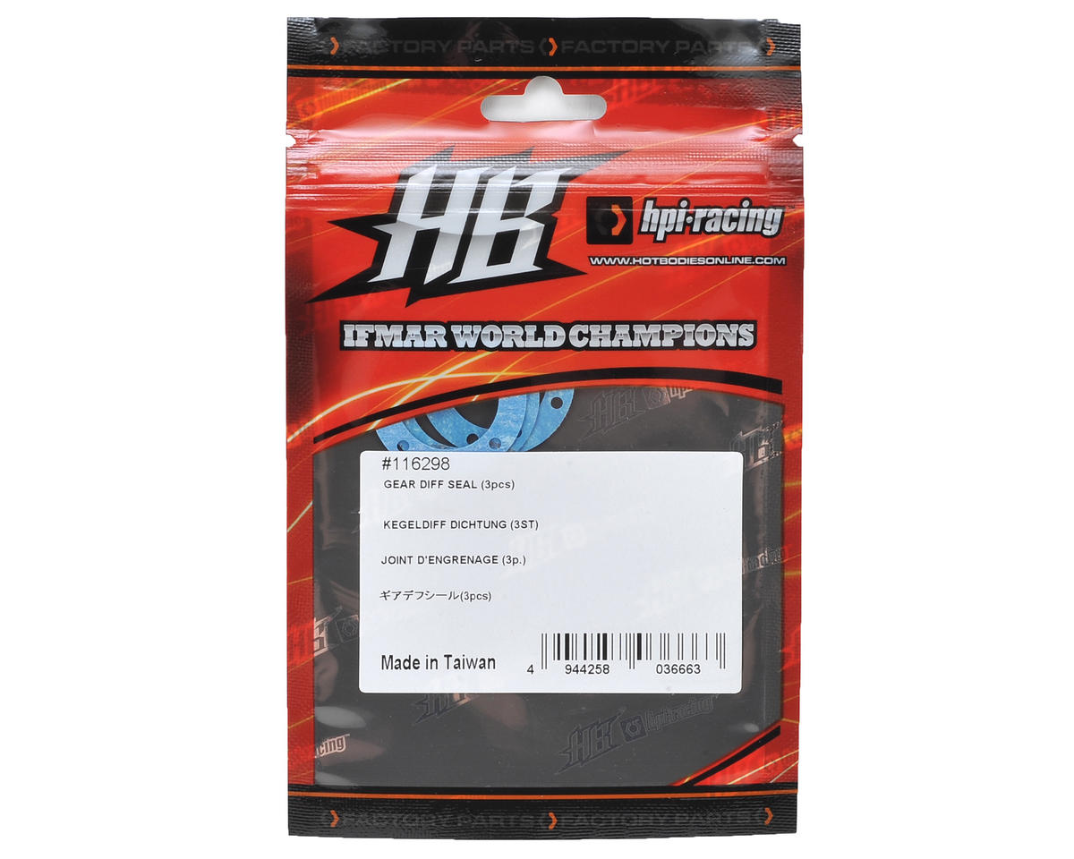 HB Racing D216 Gear Differential Seal (3)