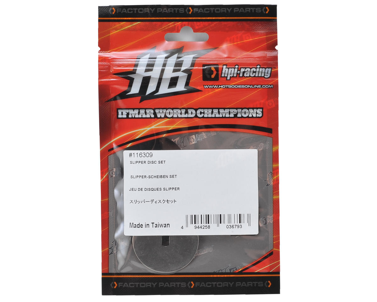 HB Racing D216 Slipper Disc Set