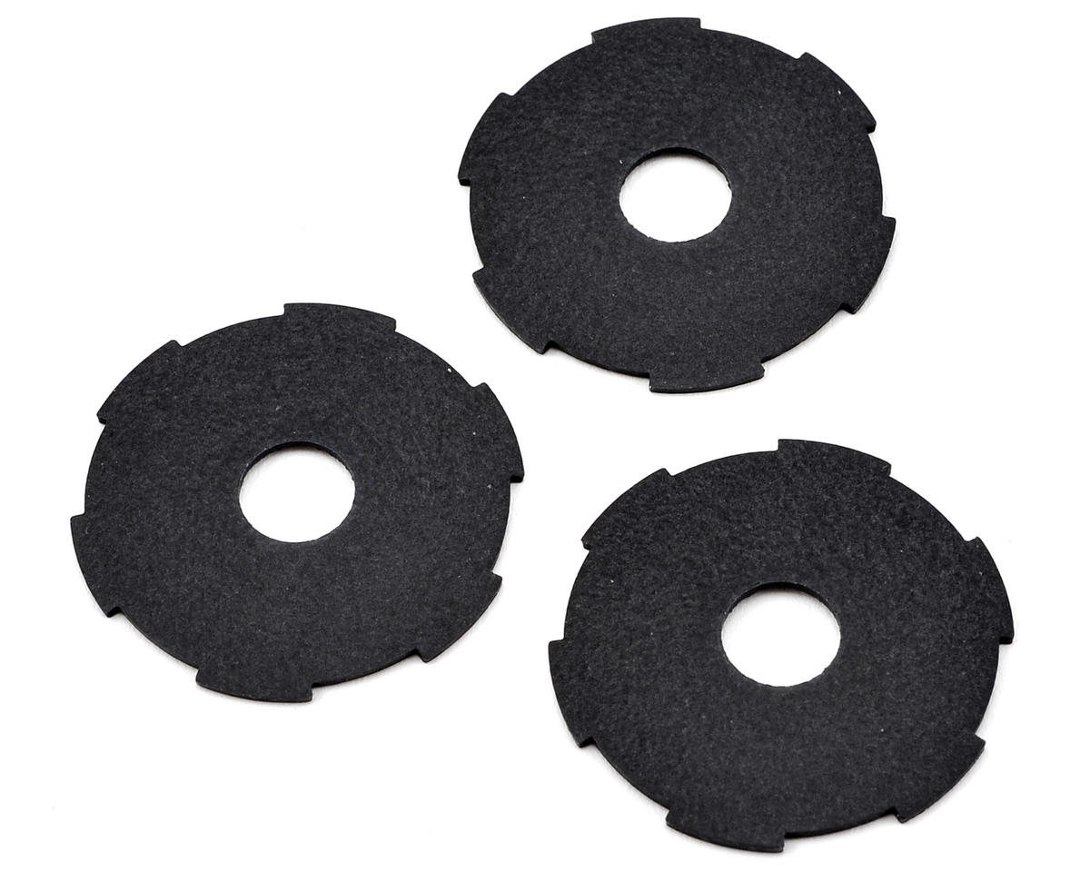 D216 Slipper Pad Set (3) by HB Racing