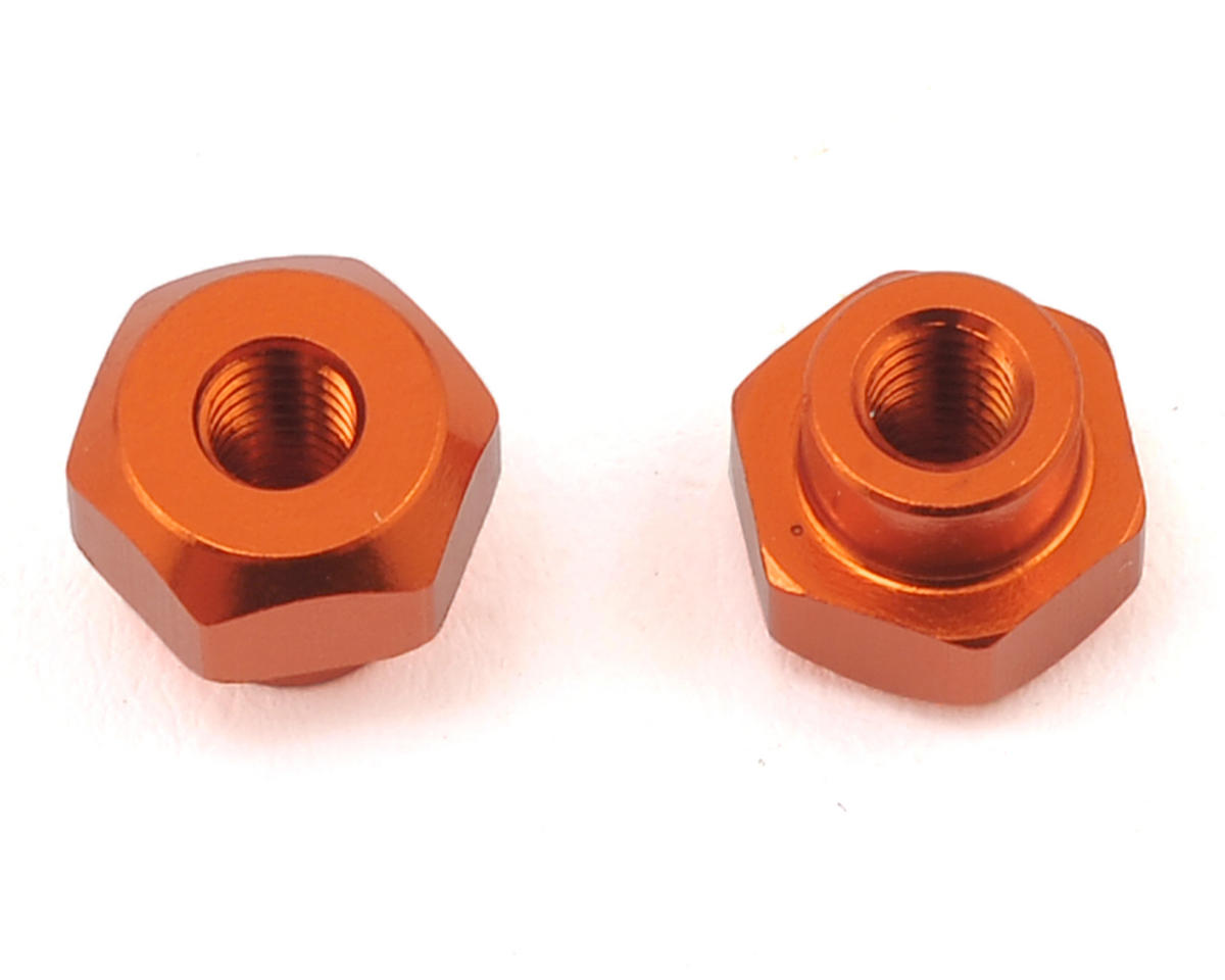 HB Racing D216 Battery Nut (Orange) (2)