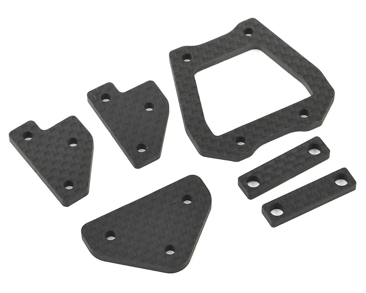 HB Racing E817/E817T Carbon Chassis Brace Set