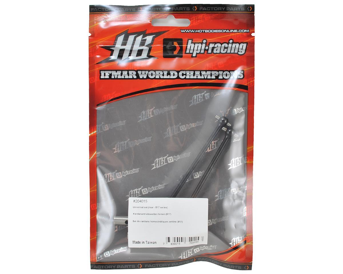 HB Racing D817 Rear Universal Set