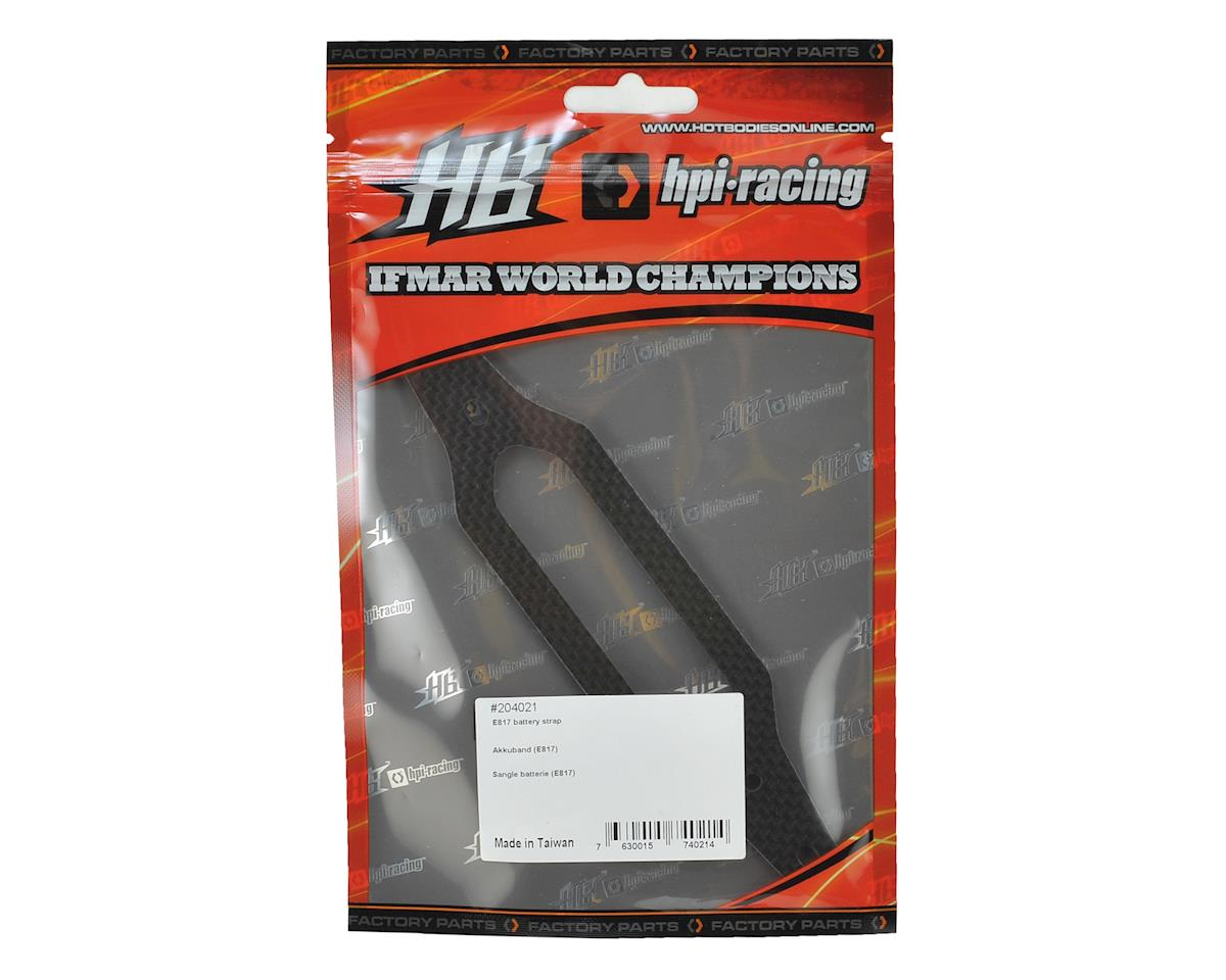 HB Racing E817/E817T Carbon Battery Strap