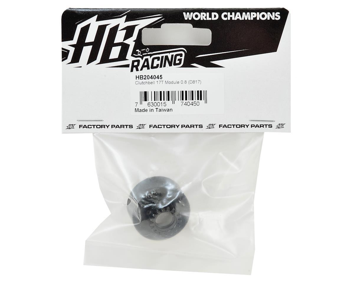 HB Racing D817 Mod 0.8 Clutch Bell (17T)