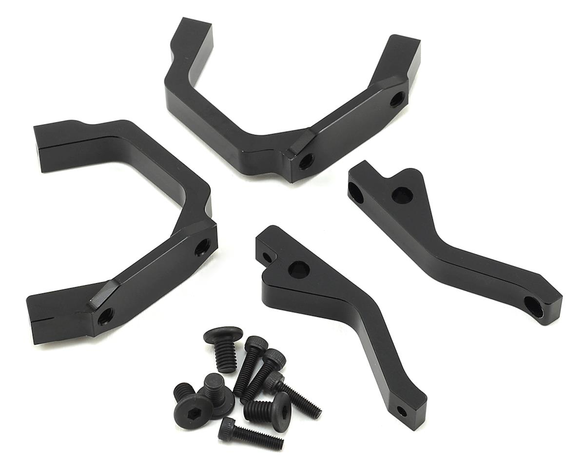 HB Racing E817/E817T Aluminum Motor Mount Set