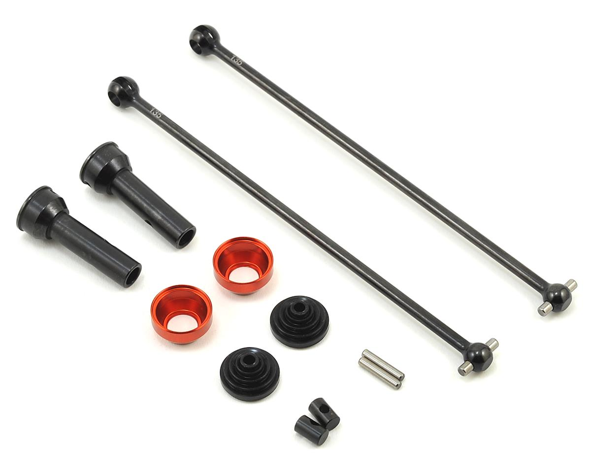 HB Racing E817T 135mm CVA Drive Shaft Set (Rear)