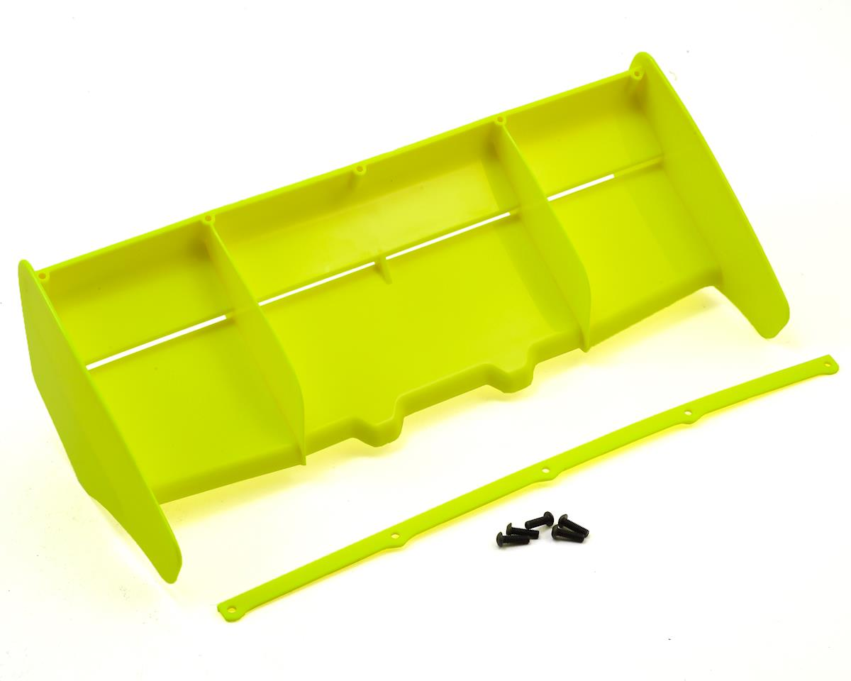 HB Racing 1/8 Rear Plastic Wing (Yellow)