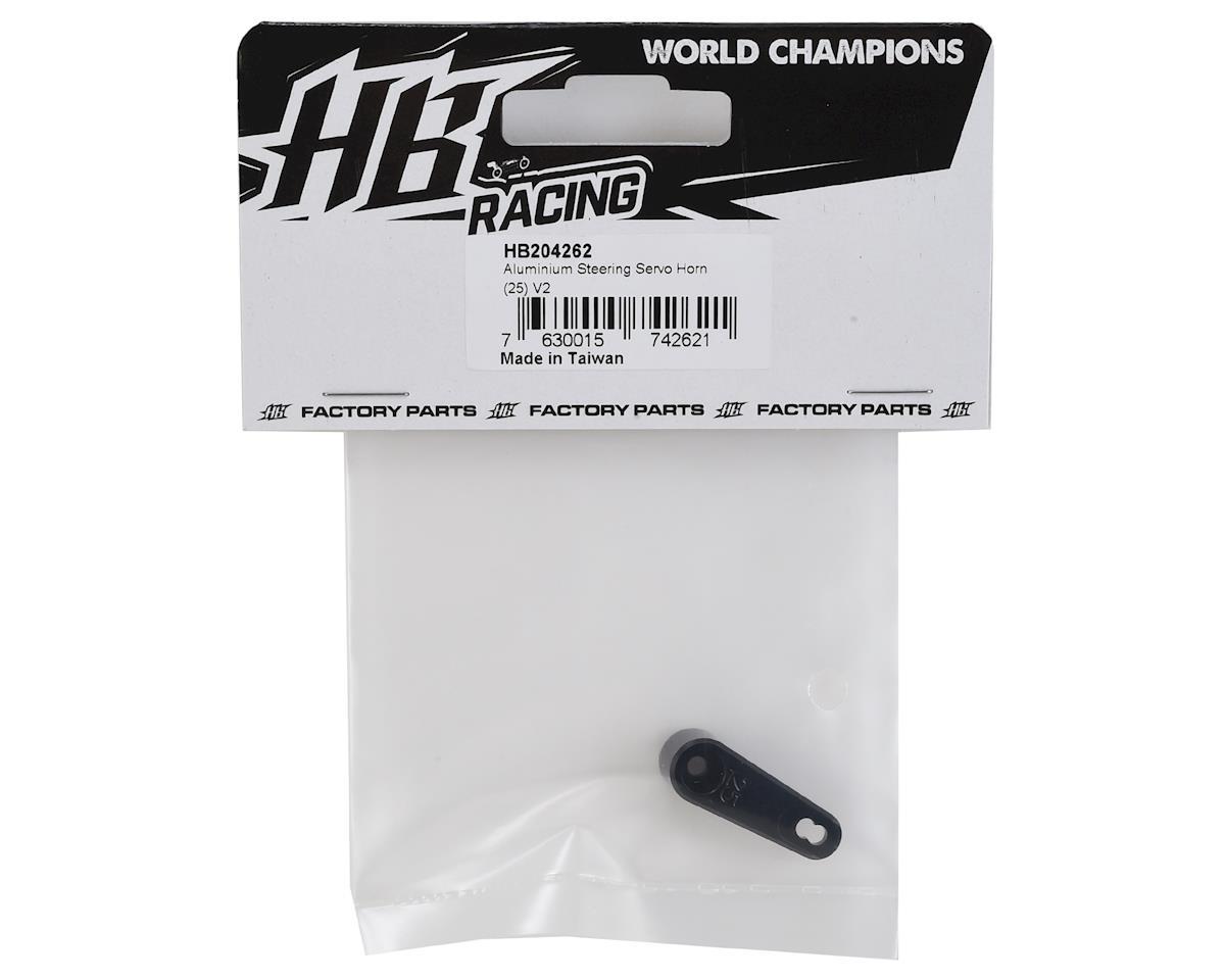 HB Racing V2 Aluminum Steering Servo Horn (25T-ProTek/Futaba/Savox)