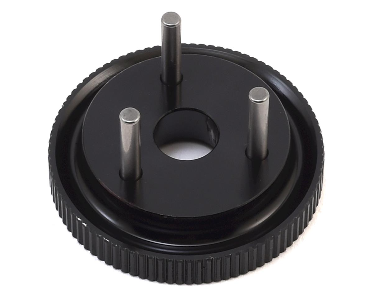 HB Racing 3-Pin D817 V2 Flywheel (Hard Black)