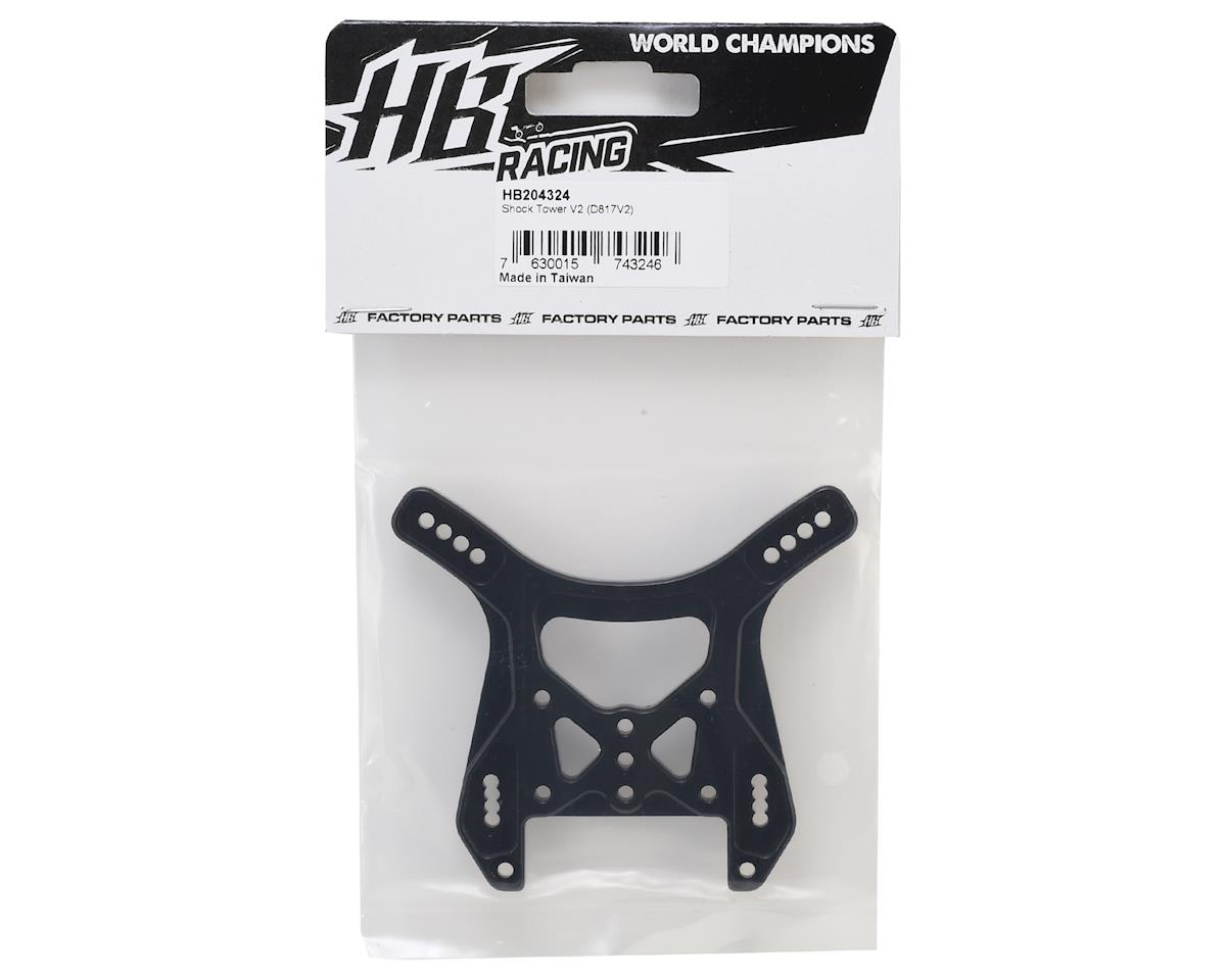 HB Racing Aluminum Rear V2 Shock Tower