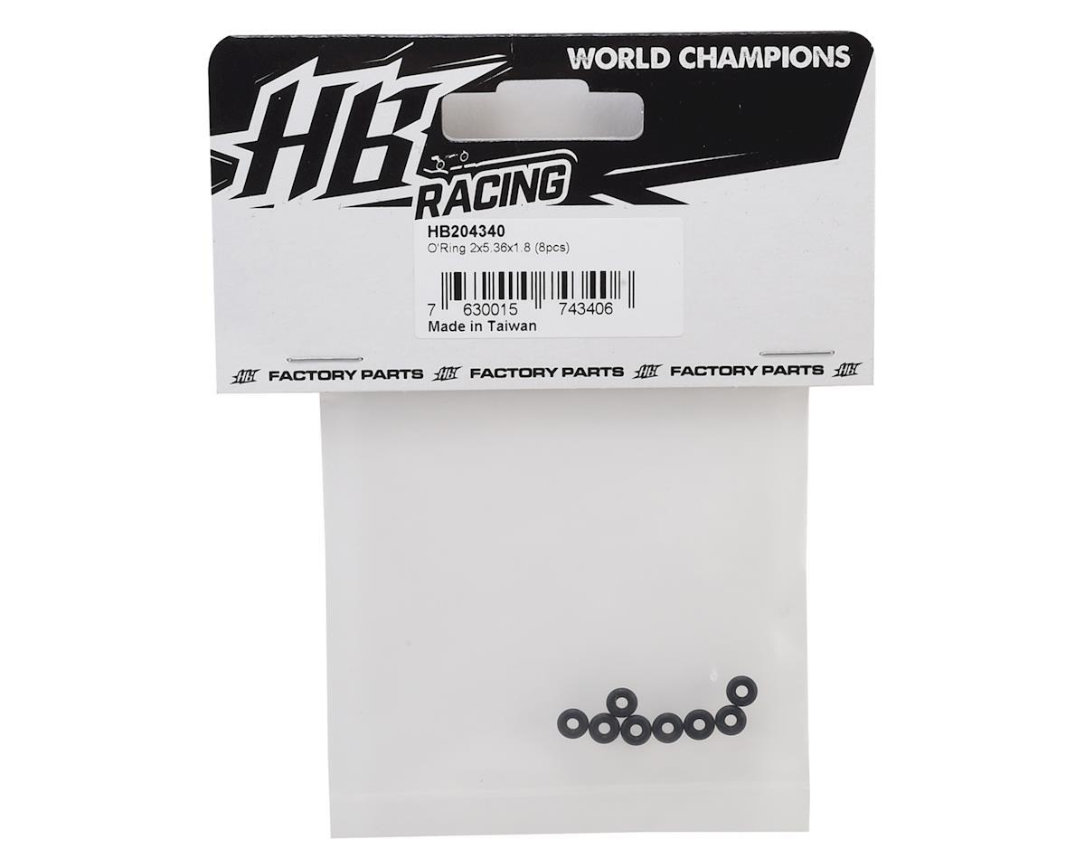 HB Racing 2x5.36x1.8mm O-Ring (8)
