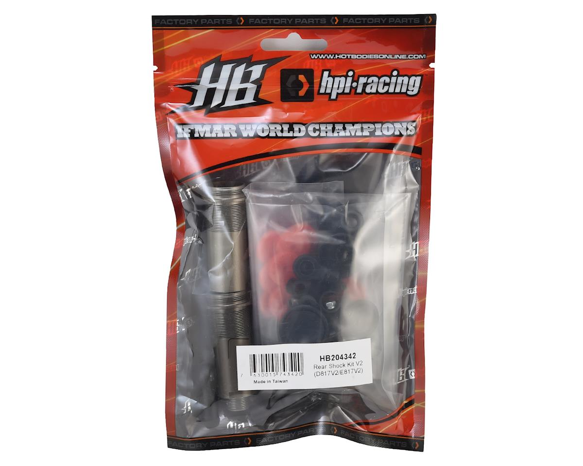 Premise 75 Vs I Maxx Pro: HB Racing D817 V2 Rear Shock Kit [HBS204342]