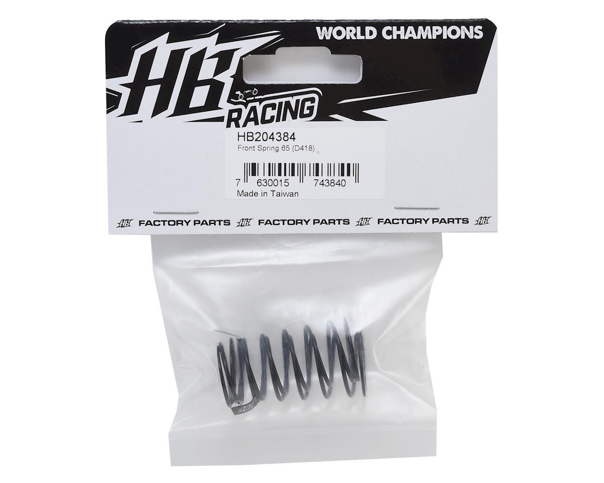 HB Racing D418 Front Spring Set (65)