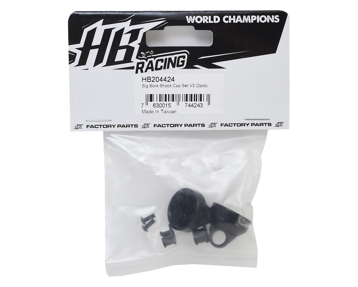 Image 2 for HB Racing V3 Big Bore Shock Cap Set